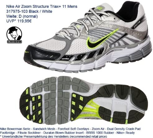 Nike 317975 103 Air Zoom Structure