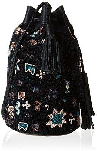 Antik mujer Bolso Cody1bag para al hombro Batik Negro Black CYCq4wZ