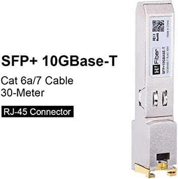 Ubiquiti Compatible 10GBASE-T Copper SFP Transceiver module RJ45 30m
