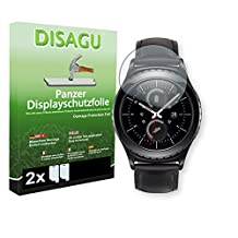 2 x DISAGU Armor screen protector for Samsung Gear S2 (2016) screen fracture protection film