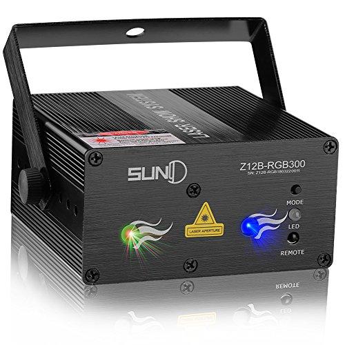 SUNY Laser Light Laser Projector DJ Stage Lighting