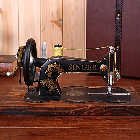 GFEI Maquina de coser antigua retro muebles hogar muebles hierro ...