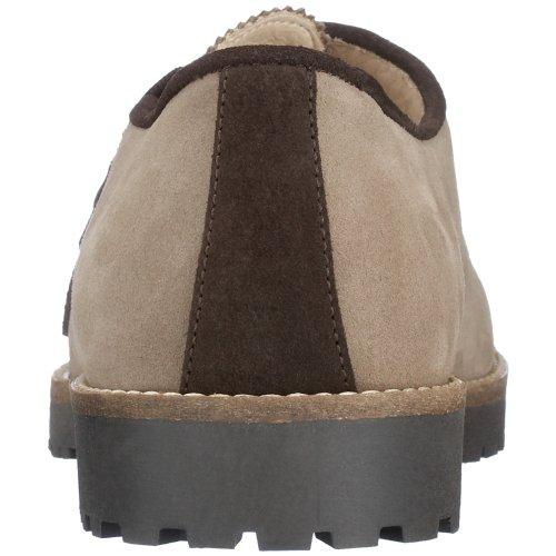 Diavolezza - Zapatos de ante para mujer Beige