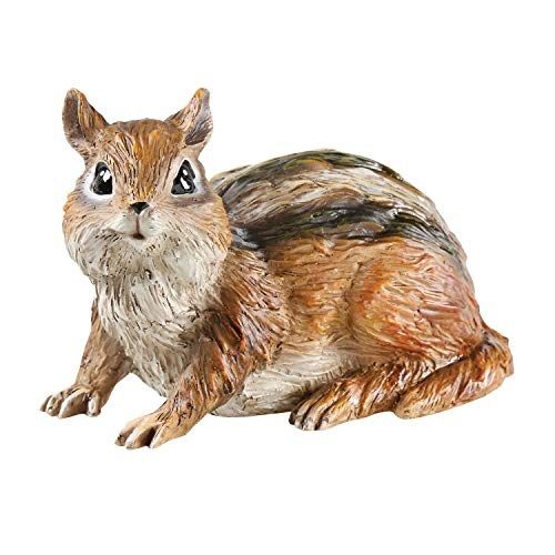 (WHAT ON EARTH Outdoor Chipmunk Key Hider - Animal Shaped Spare House Key)