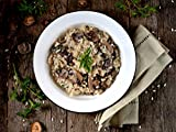 Italian Black Truffle Risotto Meal Kit by Takeout Kit (Dinner for 4)