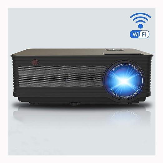 Mini proyector portátil Video casero proyectando Aparato WiFi ...