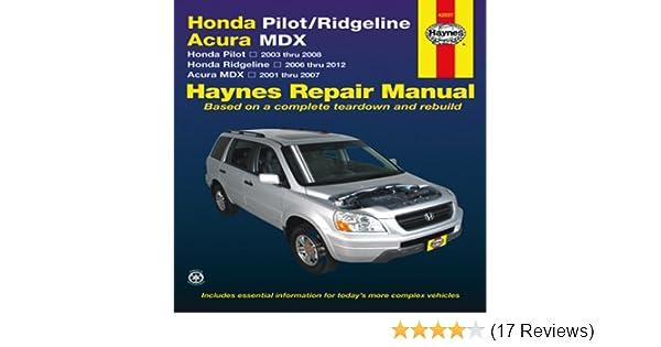 Honda Pilotridgeline Acura Mdx Pilot 2003 Thru 2008. Honda Pilotridgeline Acura Mdx Pilot 2003 Thru 2008 Ridgeline 2006 2012 2001 2007 Haynes Repair Manual Editors Of. Honda. Honda Pilot Home Link Wiring Diagram At Scoala.co