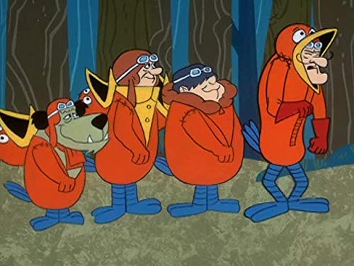 The Cuckoo Patrol//The Masked Muttley/Pest Pilots