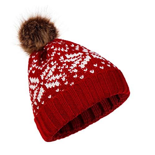 Tricoté Femmes Laine Ski Slouchy Hommes Bonnet Chaud Hiver Chapeau Chapeau Crochet Caps bonnets Crâne Daysing Tricoté bonnet Baggy Red Beanie 6zC0xnqTw