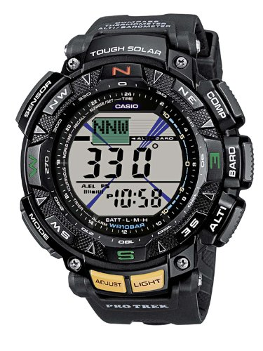 Casio PRG-240-1ER Mens Pro-Trek Solar Powered Sports Watch