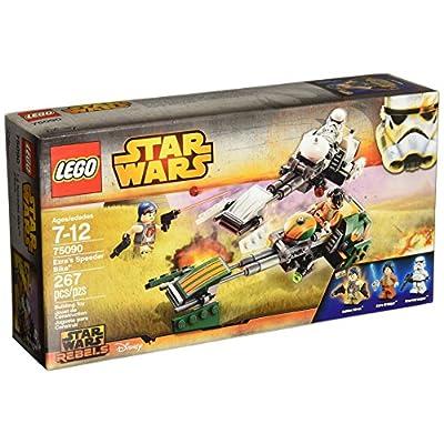 LEGO Star Wars Ezra's Speeder Bike: Toys & Games