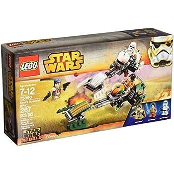 amazoncom lego star wars ezras speeder bike toys amp games
