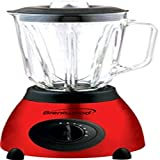 5 Speed Blender Stainless Steel Base with Glass Jar Red consumer electronics Electronics