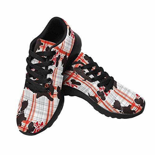 Interestprint Femmes Jogging Running Sneaker Léger Aller Facile Marche Confort Sport Chaussures De Course Multi 15