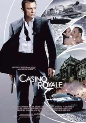 Casino Royale Double-Sided International Style B 27X40 Super Rare Daniel Craig Eva Green Poster from Silverscreen
