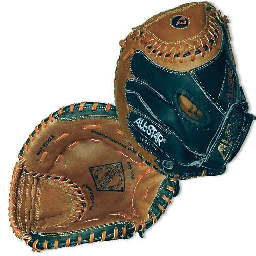 Softball Fastpitch Series (All Star MVP Series 33.5 Inch Fastpitch Catcher's Mitt - Right Hand Throw)