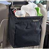 High Road TrashStash Hanging Car Trash Bag with No-Leak Lining and Spring Closure