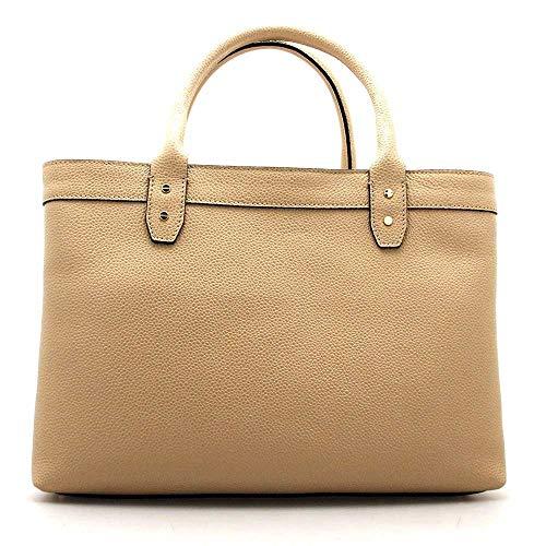 923691 Female Almond s23 Leather Bag f96 Borbonese 1xHARwavqH