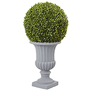 Nearly Natural 2.5 ft. Boxwood Topiary 47