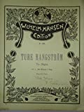 : Du blomst I dug,, To Digte af J. P. Jacobsen (Two Poems by Jacobsen) (Medium Voice) (key of B) (d# to g#), Musik by Ture Rangstrom