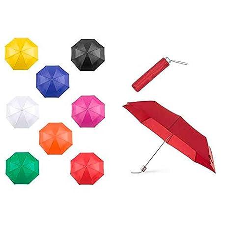 Lote de 20 Paraguas Plegables Colores Surtidos - Paraguas Plegables para Regalos de Empresa, Bodas
