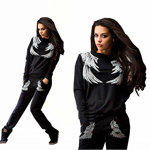 Forlisea-Womens-Leisure-2-Pieces-Fashion-Pullovers-Sport-Tracksuit-Sweatsuit