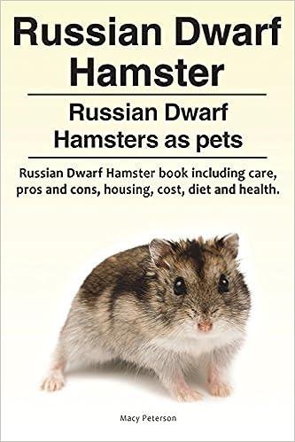 Russian Dwarf Hamster  Russian Dwarf Hamsters as pets