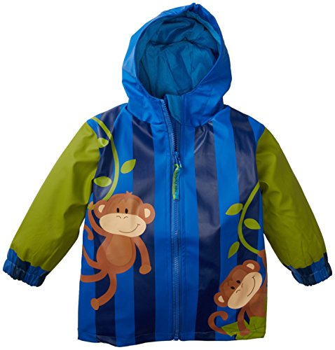 Stephen Joseph Rain Coat, Monkey, 5/6