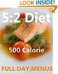 The 5:2 diet 500 calorie daily menu's