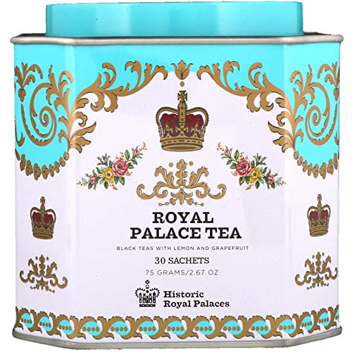 - Harney & Sons Royal Palace Tea Tin - High Quality Blend of Black Teas, Great Present Idea - 30 Sachets, 2.67 Ounces