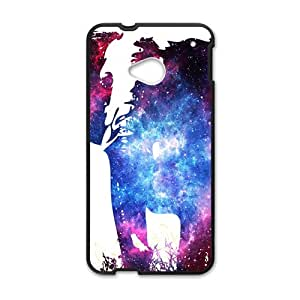 Abstract elephant and skull Cell Phone Case for HTC One M7