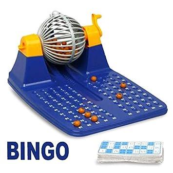 juego de bingo con la ruleta y la bola: Amazon.es: Juguetes y juegos