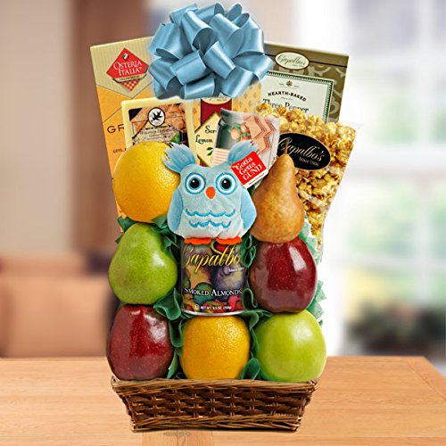 It's A Boy Fresh Fruit Gift Basket