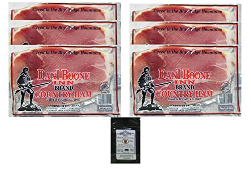 Dan'l Boone Country Ham 6 - 12oz Packages (4.5 - Ham Cured
