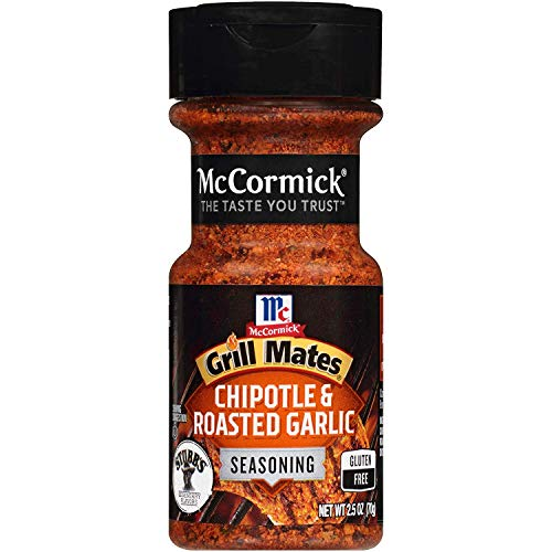 McCormick Grill Mates Chipotle & Roasted Garlic Seasoning, 2.5 OZ (Pack - 3)