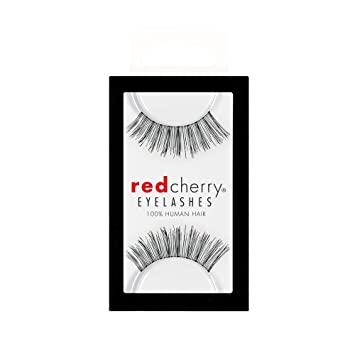 88db9e22ba2 Amazon.com : Red Cherry False Eyelashes #16, Black (Pack of 6) : Fake  Eyelashes And Adhesives : Beauty