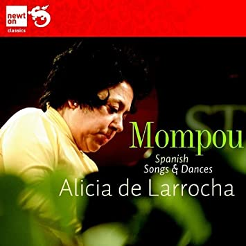 frederico mompou spanish songs dances amazon com music