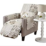 Great-Bay-Home-Patchwork-Scalloped-Stain-Resistant-Printed-Furniture-Protector-Brand-Recliner-Taupe