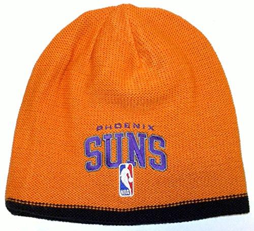 NBA adidas Phoenix Suns Authentic Team Reversible Knit Beanie - Orange/Black Adidas Nba Reversible Knit Hat