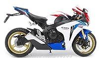 1/12 ホンダ CBR 1000RR(ホワイト×ブルー×レッド) 「リアルデザインダイキャストバイクシリーズ」の商品画像