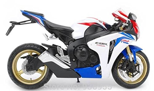1/12 ホンダ CBR 1000RR(ホワイト×ブルー×レッド) 「リアルデザインダイキャストバイクシリーズ」