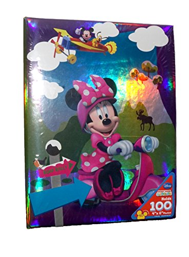 Princess Picture Album - Disney Minnie Mouse Girls Photo Album - Pink