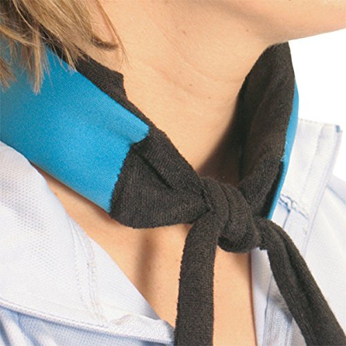 (Ice Bandana - Blue / Black - TWO (2) Pack by Icy Cools)