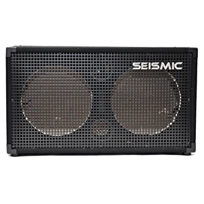Seismic Audio - Empty 212 GUITAR SPEAKER CABINET - 2x12 PA/DJ PRO AUDIO - Loaded with everything but speakers. Includes grill, wire, jack plates, handles, etc. by Seismic Audio