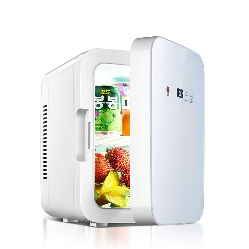 Nrthtri Compact Cooler Warmer Mini Fridge Wine Cooler with Digital Thermostat for Cars, Road Trips, Homes, Offices & Dorms car Refrigerator car Refrigerator (Color, Size : 252030cm)
