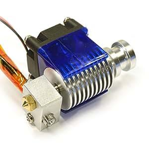 RepRap Champion Metal J-Head V6 Hot End for RepRap 3D Printer 1.75mm Filament Direct Feed Extruder 0.4mm Nozzle