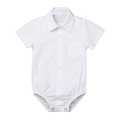c8eb5e2ed1681 TiaoBug Bebés Mameluco Algodón Conjunto Monos Camisa Manga Corta para  Recién Nacidos Unisex Mono Bodies Peleles Verano para 3-24 Meses   Amazon.es  Ropa y ...