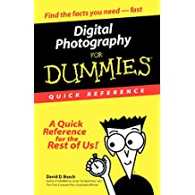 Digital Photography For Dummies Quick Reference