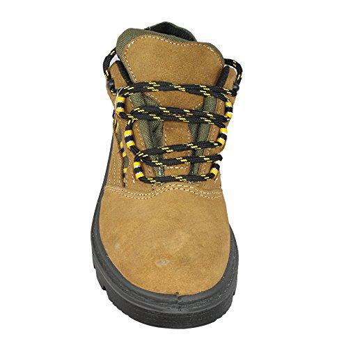COFAN - Calzado de protección de Piel para hombre Marrón marrón IKiROluDcc
