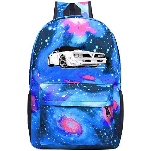1978 Firebird Trans Am Backpacks, GCASST Galaxy School Bags for Teens Girls Boys Kids, Laptop Backpack, Unisex Casual - Firebird Set Strap